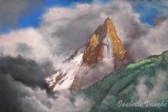 orage de montagne